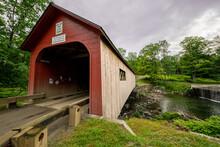 Covered Bridge In Vermont
