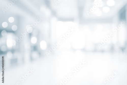 Fotografie, Obraz blur abstract background from office , MODERN LIGHT SPACIOUS BUSINESS Room