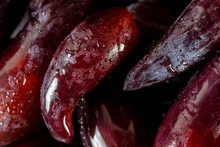 Closeup Witches Fingers Grapes