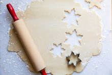 Holiday Cut Out Cookie Dough