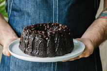 Chocolate Bundt Cake With Chocolate Chips