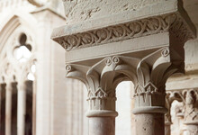 View Of Vallbona De Les Monges Interior - Female Monastery In Catalonia