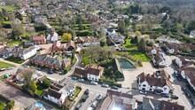 Village Of Stock Essex UK Aerial