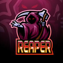 Reaper Esport Logo Mascot Design