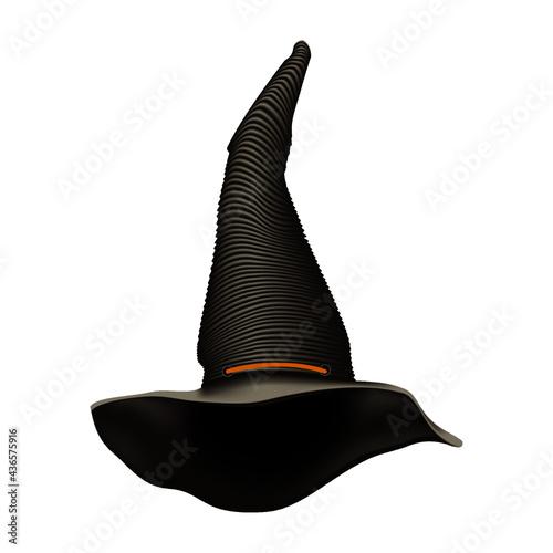 Fotografie, Obraz halloween witch hat