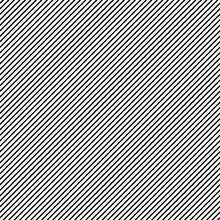 Vector Black Diagonal Lines Pattern Seamless On White Background
