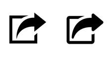 矢印アイコン ウェブの新しいページを開くボタンや外部ページへのリンク