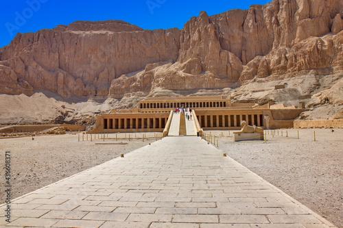 Fotografia Mortuary Temple of Hatshepsut, Egypt