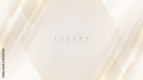 Fotografiet Luxury modern abstract scene