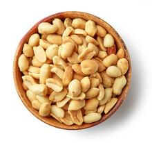 Bowl Of Roasted Salted Peanuts