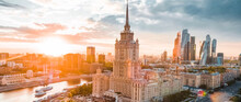 Amazing Moscow Architecture On A Clear Day