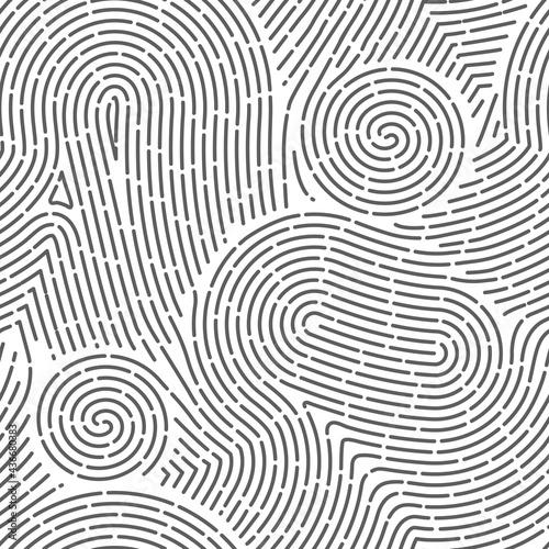 Seamless finger print Fototapet
