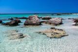 Fototapeta Fototapety z morzem do Twojej sypialni - Elafonisi Beach, Crete, Greece
