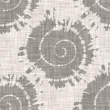 Beige Tonal Linen Shell Motif Texture Background. Summer Coastal Living Style Home Decor Fabric Effect. Decorative Sealife Textile Seamless Pattern