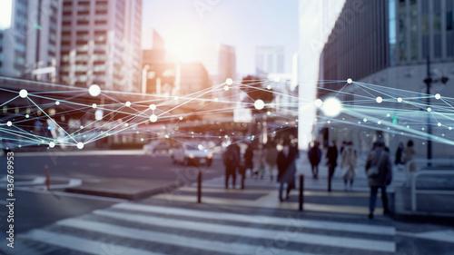 Photo 都市とネットワーク ICT IoT
