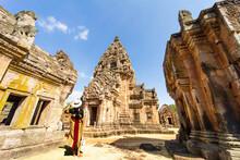 Prasat Khao Phanom Rung Is A Castle Stone Laterite, Buriram Province, Thailand.