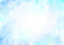 夏の和風 和柄 背景 フレーム