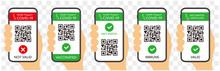 Vaccinated Smartphone Certificate