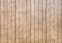 Stylish Contemporary Wainscoting Made Of Thin Light Toned Ash Timber Planks As Textured Background For Design Close View
