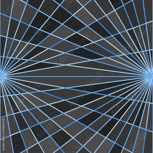 Canvas-taulu Abstract Square Art Design Background, The Universe Concept