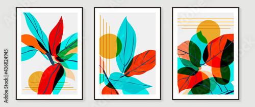 Fotografia Abstract art background vector