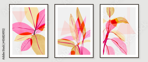 Stampa su Tela Abstract art background vector