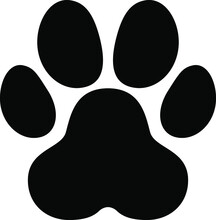 Paw Vector Footprint Icon