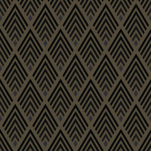 Fabric Striped Pattern ,maze Way To Mystery In Brown Tone