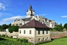 Gothic And Renaissance Castle Grafenegg In Austria