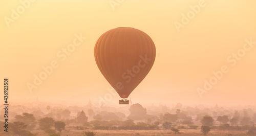 Fotografie, Obraz Tamples of Bagan, Burma, Myanmar, Asia.