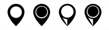 Location Icon. Simple Map Pin. Map Marker Pointer Icon Set. Modern Map Markers. Location Pin Sign. Map Pin Place Marker.