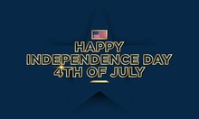 United States Independence Day Background Design. Fourth Of July.