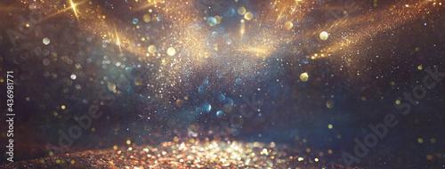 Fotografie, Obraz background of abstract glitter lights