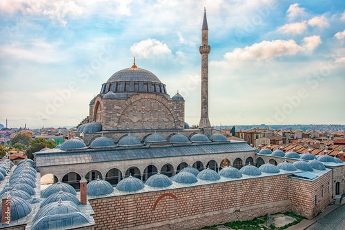 Foto Yeni Cami, New Mosque in Istanbul