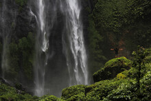 Biggest Waterfall In Lombok Island