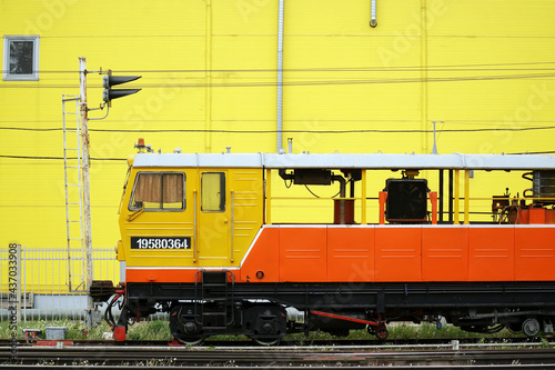 Fotografie, Obraz Freight wagons at the station