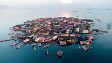 Densely Populated Settlements In The City Of Bandar Lampung