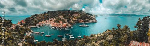 Obraz na plátně Portofino Italien