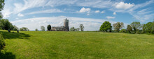 Panorama View Of Bristol Observatory Tower England Uk