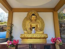 Buddha Statue In A Korean Temple