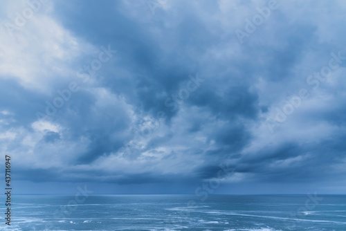 Slika na platnu Stunning fine art landscape image of view from Hartland Quay in Devon England du