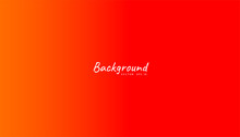 Red Gradient Abstract Background. Blurred Smooth Color, Bright Light Effect Holographic, Coloful Graphic Soft Design Wallpaper, Vector Illustration