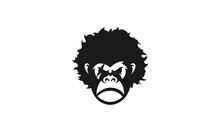 Gorilla Head Design With Black Look