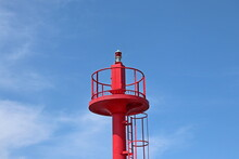 Sea Navigation Point - The Lighthouse In Dziwnów, Poland