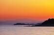 Leinwandbild Motiv Sea sunset