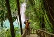 Leinwandbild Motiv Waterfall in Costa Rica