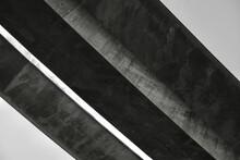 Elegantes Brücken Bauwerk Aus Beton Von Einem Tief Liegenden Standort Aus Gesehen