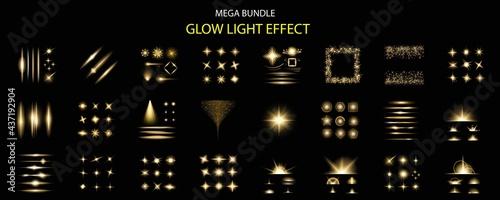 Fotografie, Obraz Glowing light effects