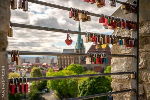 Fotografia Erfurt mit Dom