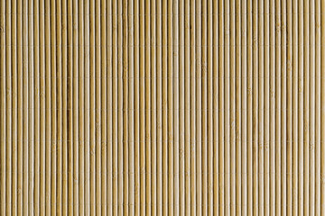 Beautiful bamboo mat background, New clean bamboo board with striped pattern, flat background photo texture. japanese mat.
